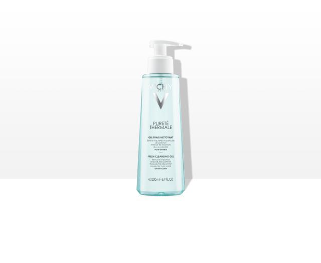 Sveži gel za čišćenje osetljive kože lica
