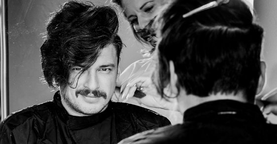 Kosa poznatog glumca Andrije Kuzmanovića bira Dercos