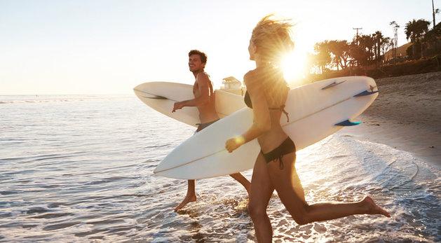 Zaštita od sunca za one koji se osećaju kao ribe u vodi!