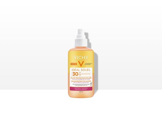 Vodica za zaštitu od sunca SPF 30 - s antioksidacijskim delovanjem